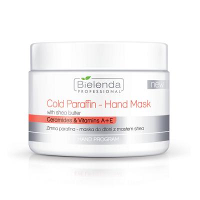 Bielenda Hand Program Zimna parafina - Maska do dłoni z masłem shea - 150g