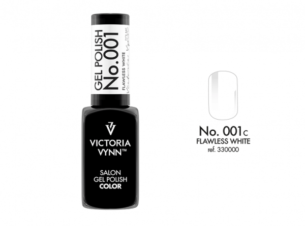 Victoria Vynn Gel Polish Color - Flawless White No.001 8 ml