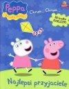 Świnka Peppa zestaw 2 książki Chrum (Najlepszy przyjaciel i Malowany świat) + figurka PEPPY KUCHARKI