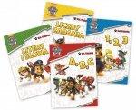 Psi Patrol Na tropie zestaw 4 książek edukacyjnych