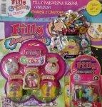 Filly magazyn Magiczna Kraina ZESTAW - Filly Erazy + figurka z limitowanej edycji + saszetka Filly Syrenki (Mermaids)