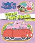 Świnka Peppa Zabawy z naklejkami 2 Wielkie sprawy