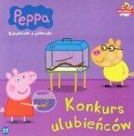 Świnka Peppa Książeczki z półeczki 25 Konkurs ulubieńców