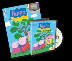 Świnka Peppa Wydanie specjalne z DVD Domek na drzewie (3/2013)