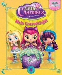 Małe Czarodziejki 4 Książka z naklejkami