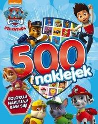 Psi Patrol 500 naklejek Koloruj! Naklejaj! Baw się!