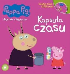 Świnka Peppa Bajeczki z Książeczki 8 Kapsuła czasu - książka z płytą DVD