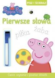 Świnka Peppa Pisz i ścieraj! 3 Pierwsze słowa