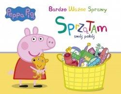 Świnka Peppa Bardzo Ważne Sprawy 6 Sprzątam swój pokój