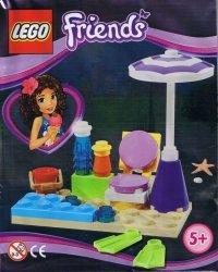LEGO Friends magazyn nr 2/2014 + zestaw plażowy