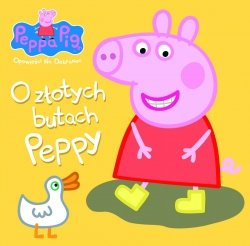 Świnka Peppa Opowieści Na Dobranoc 4 O złotych butach Peppy