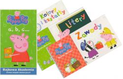 Świnka Peppa Bajkowa Akademia a, b, c… Zestaw książek edukacyjnych