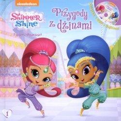 Shimmer i Shine Filmowe opowieści Przygody z dżinami (książka + DVD)