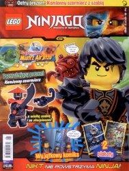 Lego Ninjago magazyn 8/2017 + Kamienny szermierz z szabla