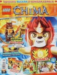LEGO Chima magazyn nr 8/2015 + BULKAR