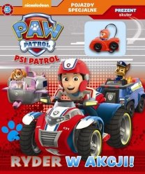 Psi Patrol Pojazdy specjalne 3 Ryder w akcji! + skuter