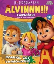 Alvin i wiewiórki 10 (z naklejkami)