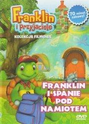 Franklin i przyjaciele kolekcja filmowa 7 Franklin i spanie pod namiotem DVD + zabawka gratis