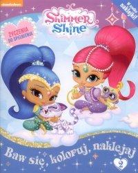 Shimmer i Shine  Życzenia do spełnienia 2 Baw się, koloruj, naklejaj