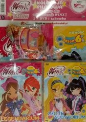 Winx Club Zestaw DVD 6.1 Legendarium + 6.2 Złote Audytorium + prezent