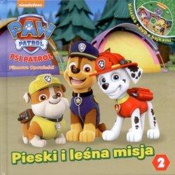 Psi Patrol Filmowe opowieści 2 Pieski i leśna misja (książka + DVD)