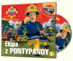 Strażak Sam Filmowe opowieści 1 Ekipa z Pontypandy (książka + DVD)
