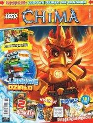 LEGO Chima magazyn nr 11/2014 + LODOWE DZIAŁO Sir Fangara
