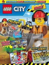 LEGO City magazyn 2/2017 + budowniczy i narzędzia