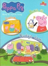 Świnka Peppa Bawię się, czytam, buduję 1 Buduję dom