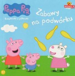 Świnka Peppa Książeczki z półeczki 37 Zabawy na podwórku