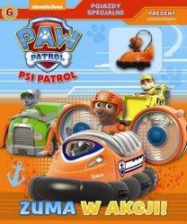 Psi Patrol Pojazdy specjalne 6 Zuma w akcji! + poduszkowiec