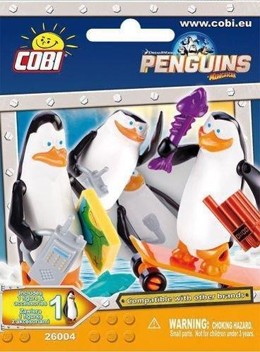 Pingwiny z Madagaskaru Wydanie specjalne 1/2015 z figurką i plakatem XXL