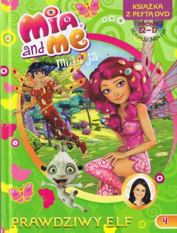 Mia i ja Książka z płytą DVD cz.4 Prawdziwy Elf