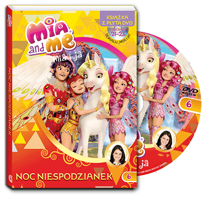 Mia i ja Książka z płytą DVD cz.6 Noc niespodzianek