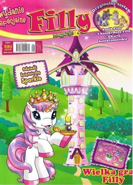 Filly magazyn Wydanie specjalne nr 1/2012 z zestawem figurek Jednorożce