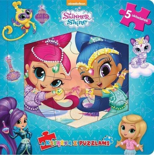Shimmer i Shine Książka z puzzlami
