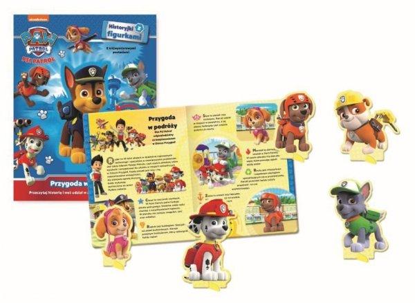 Psi Patrol Historyjki z figurkami Przygoda w podróży