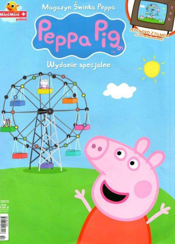 Świnka Peppa magazyn Wydanie specjalne z DVD Wesołe miasteczko (2/2015)