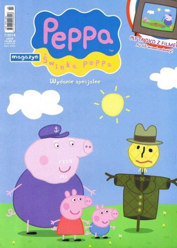 Świnka Peppa Wydanie specjalne z DVD Strach na wróble (1/2014)
