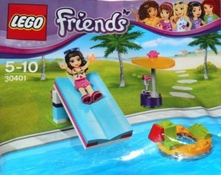 Magic Pocket Wydanie specjalne 1/2017 + LEGO Friends 30401 Zjeżdżalnia na basenie