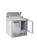HENDI 236222 Stół chłodniczy sałatkowy 2- drzwiowy z nadstawą