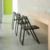 Piękne, lekkie i stylowe krzesła składane Pedrali