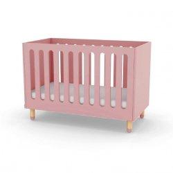 Łóżeczko dziecięce Flexa Play różowe