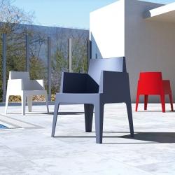 Box nowoczesny fotel ogrodowy Siesta