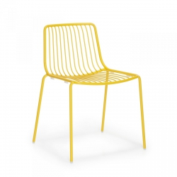 Metalowe krzesło zewnętrzne Nolita 3650 Pedrali