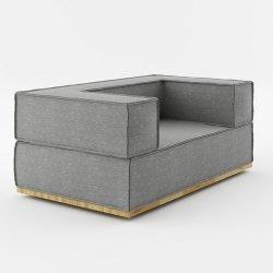 Sofa Noi Natural 150cm