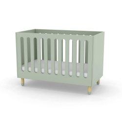 Łóżeczko dziecięce Flexa Play mleczna zieleń