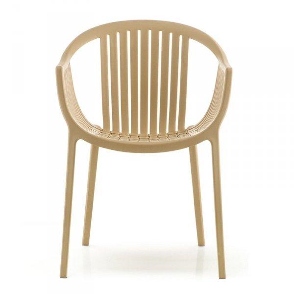Designerskie krzesła z podłokietnikami Tatami 306 Pedrali