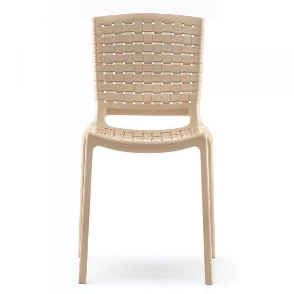 Krzesło z tworzywa do barów, restauracji i hoteli