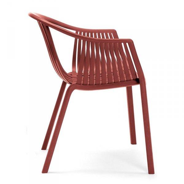 Nowoczesne krzesła Pedrali Tatami 306 Czerwone
